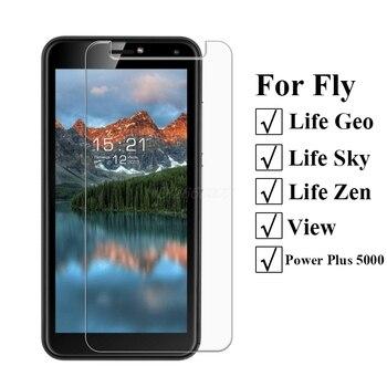 Перейти на Алиэкспресс и купить Закаленное стекло для Fly Life Geo Защитная пленка для экрана на Fly Life Sky Zen чехол для Fly Power Plus 5000