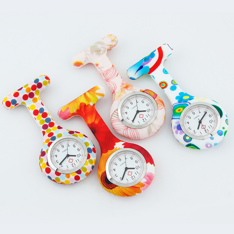 Pocket Watch Nurse Watches Fob Quartz Nurses Watches Medical Numerals Round Dial Silicone Nursing Clock ALK VISION Dropshipping