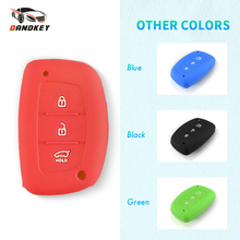 Bag Remote-Cover Hyundai Case Car-Key Silicone Without-Logo 3-Buttons Dandkey for IX25