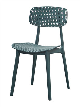 Nordic creative plastic casual dining chair Modern minimalist home back desk chair restaurant coffee chair