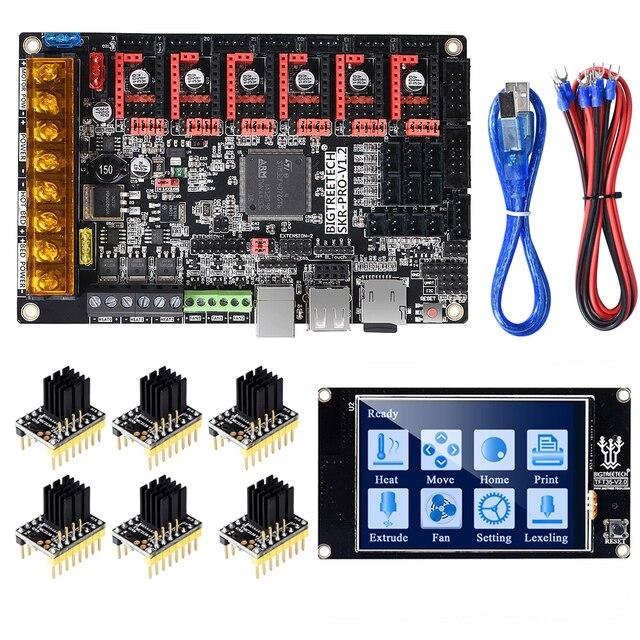 BIGTREETECH SKR PRO V1.2 Control Board 32Bit+TMC2209 TMC2208 TMC2130+TFT35 V2.0 3D Printer Parts VS SKR V1.3 MINI E3 MKS GEN L
