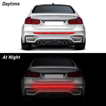 Dla VW samochodów taśma odblaskowa naklejki zewnętrzny pasek ostrzegawczy odblaskowa taśma dla Volkswagen T5 T4 Golf 6 Passat b6 b8 Polo Scirocco