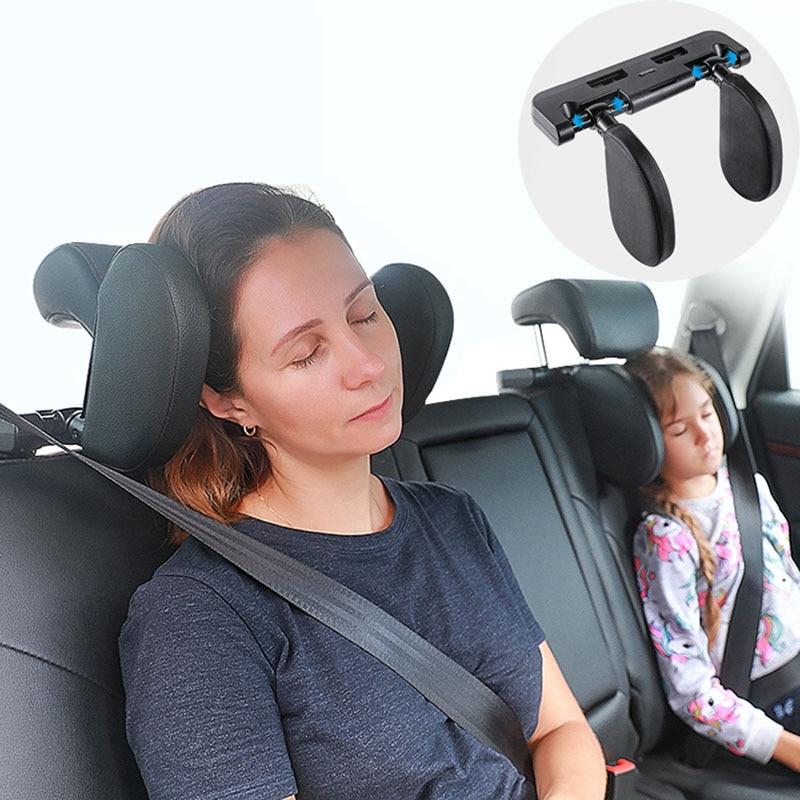 car seat headrest travel rest neck pillow support solution for jaguar land rover volvo s40 s60 s80 xc60 xc90 v40 v60 c30 xc70