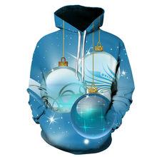Erkek giyim kazak halat 3-D şapka, noel hediyesi, yeni Hoodie 2021, noel resim
