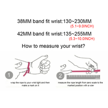 Milanese Loop For Apple Watch band strap 42mm 38mm for iwatch 5/4/3/2/1 44mm 40mm Stainless Steel Link Bracelet wrist watchband