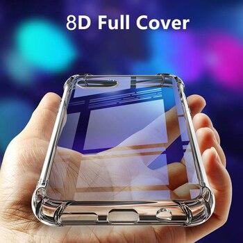 Перейти на Алиэкспресс и купить Для ZTE Nubia X NubiaX Axon 10 Pro 5G чехол Прозрачный Силиконовый ТПУ противоударный чехол-накладка для ZTE Axon 10 Pro Red Magic 3 3 3S
