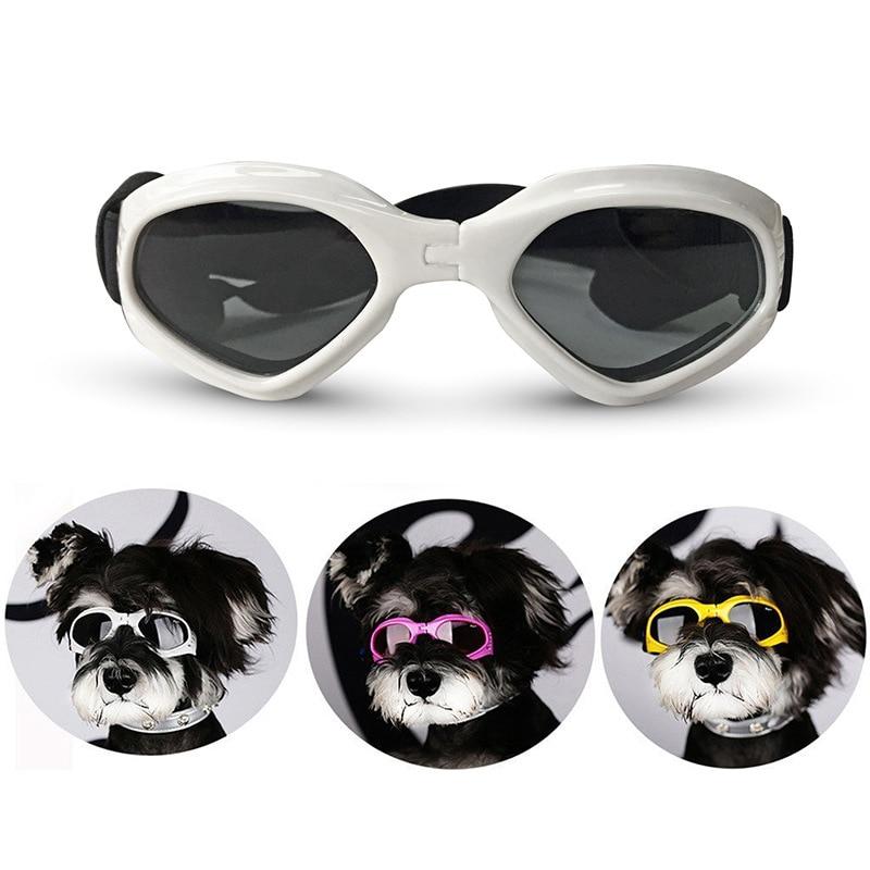 10 Pcs Dog Goggles Puppy UV Protection Sunglasses Waterproof Cat Sun Glasses Stylish and Fun Pet Eyewear Supplies Wholesale X2