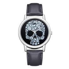 Fashion Skull Watches Women Ladies Casual Womens Leather dames horloges vrouwen reloj mujer