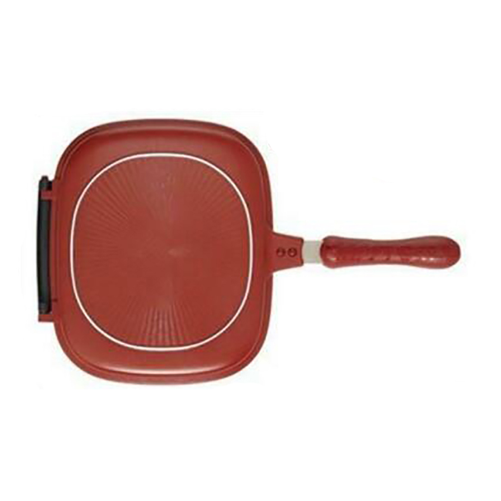 Non-stick Frying Pan Steak Square Professional Pot Pancake Kitchen Cookware Double Sided Breakfast Baking Trays Omelette