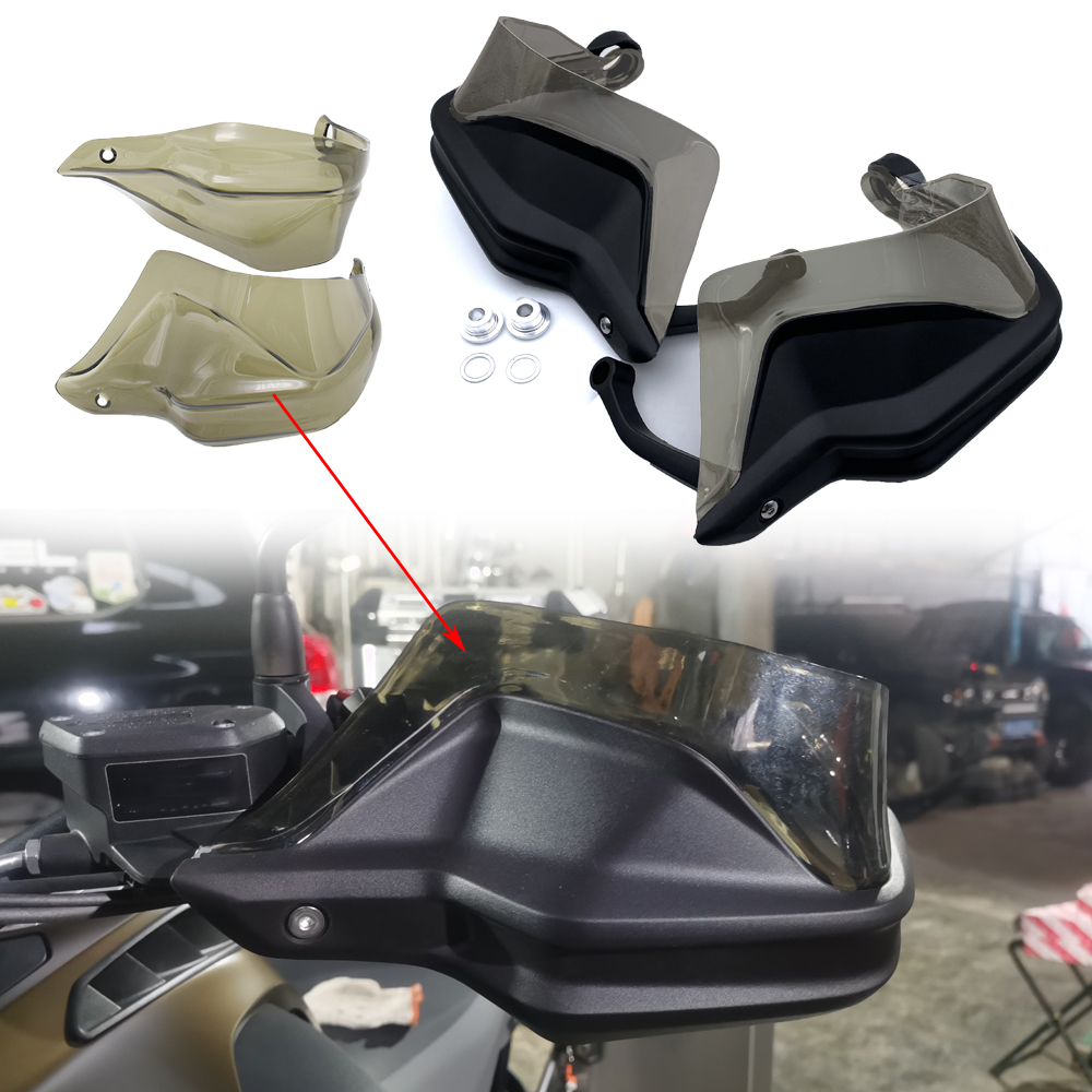 REALZION Motorcycle Handguard Hand Shield Protector Windshield For BMW F800GS ADV S1000XR R1200GS R1250GS ADV R1250GS F750GS