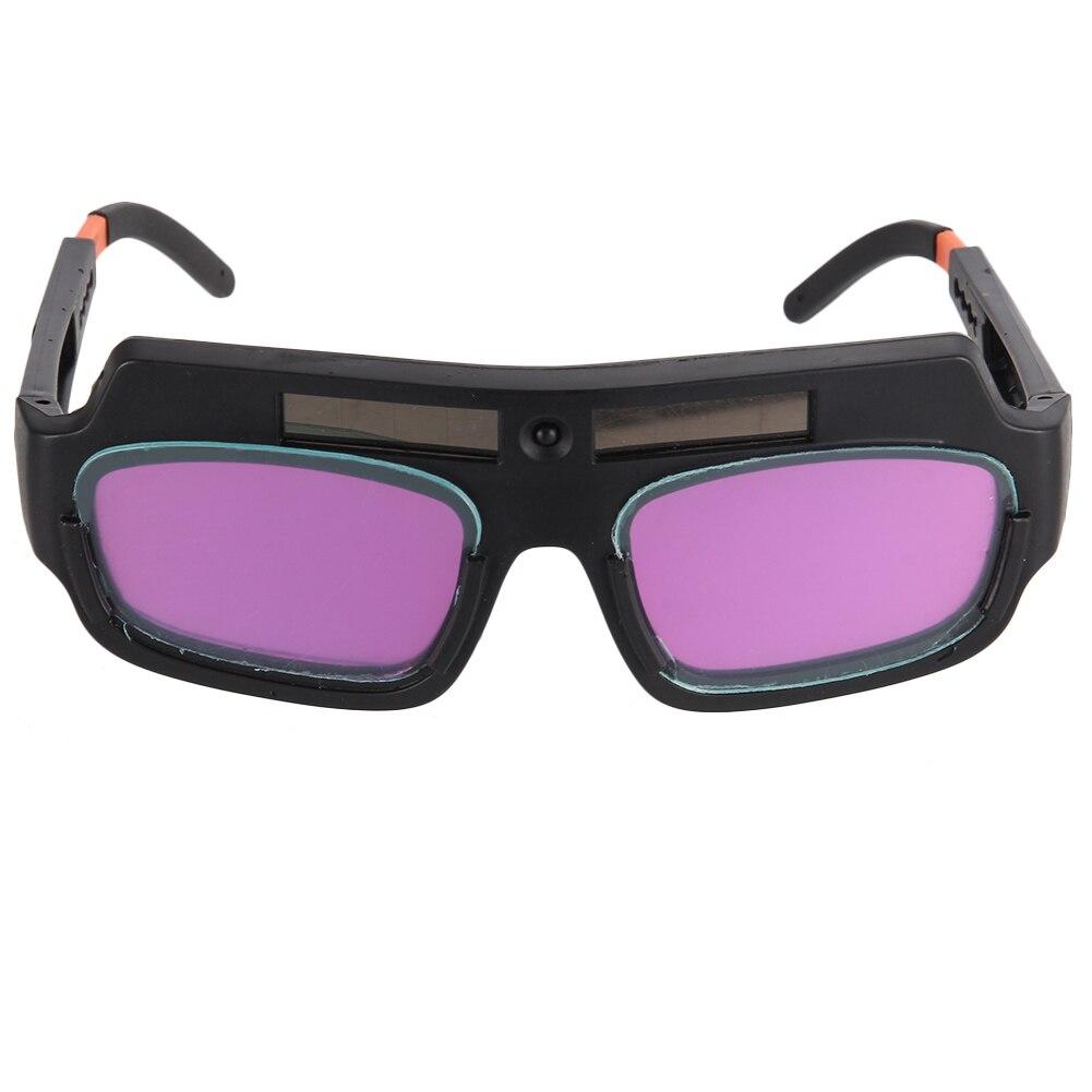 Solar Powered Welder Glasses Mask Safety Goggles Auto Darkening Eyes Protection