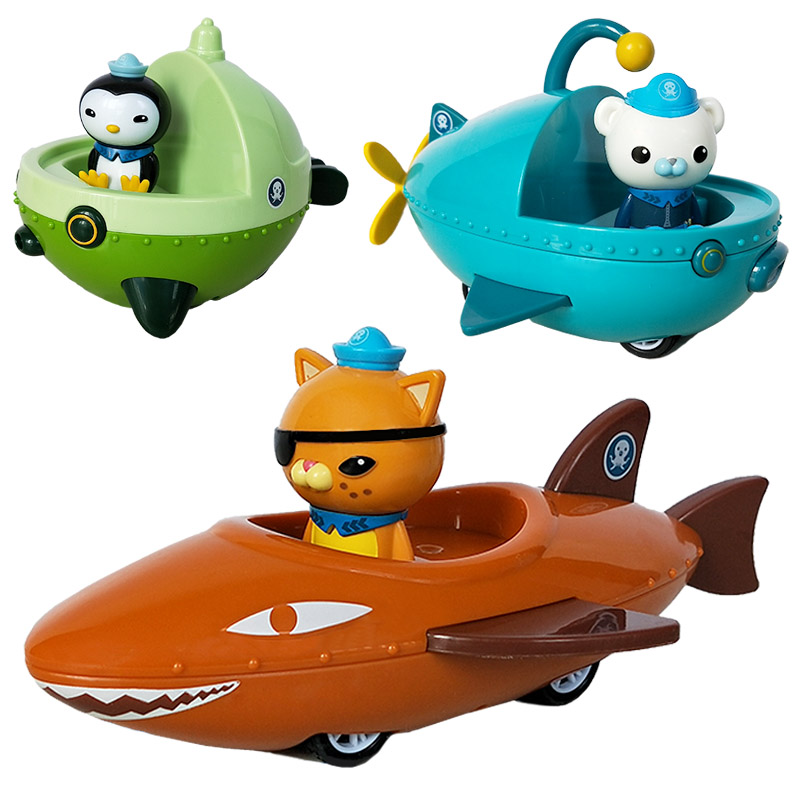 Image 2 - The Octonauts Action Figure Toys Octonauts Car Captain Baby Children Xmas Gift with Retail boxAction & Toy Figures   -