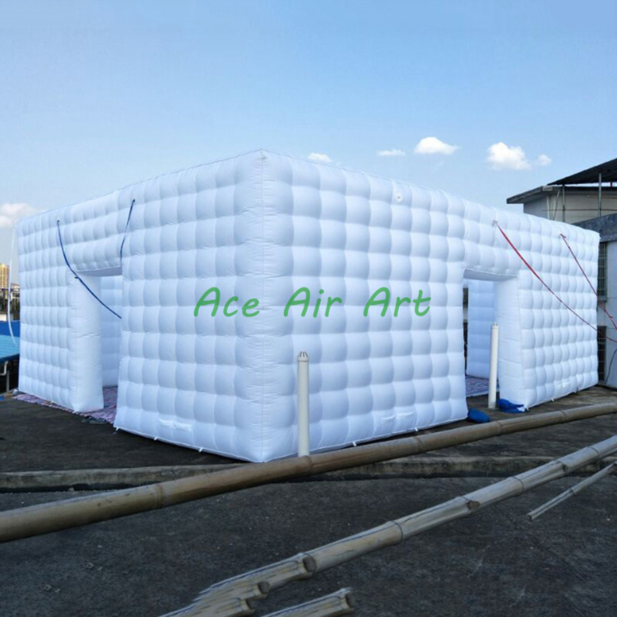 Большая надувная палатка, большая надувная палатка в форме кубика