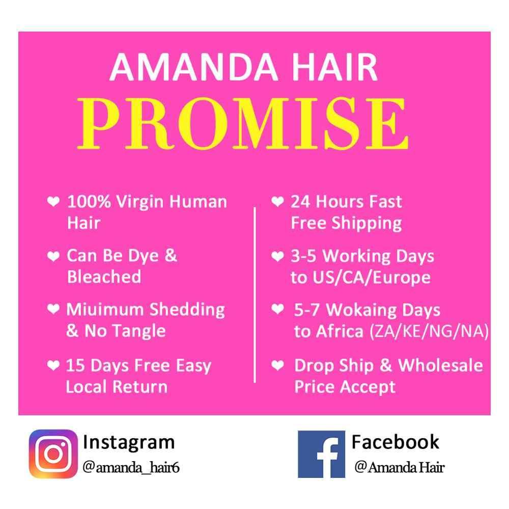 Amanda Brasilianische Reines Haar Gerade 3 Bündel Häutchen Ausgerichtet Unverarbeitete Reine Haar Natürliche Farbe Menschlichen Haar Bündel Erweiterung