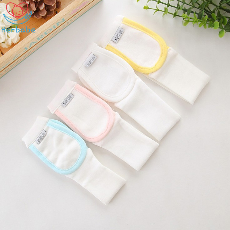 Herbabe 3pcs/set Baby Diaper Fixed Belt Adjustable Toddler Diapers Changing Belt Elastic Buckle Free Fastener For Newborn Infant