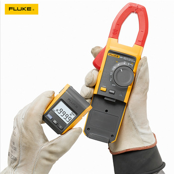 Amperímetro multímetro Fluke-Medidor de abrazadera iFlex 381, dispositivo con pantalla remota, True-rms 2