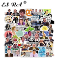 50 Pcs/Set Stickers Pack US teleplay Sticker The office Laptop Decals Waterproof Suitacase Pegatinas for Pitcher Skateboard