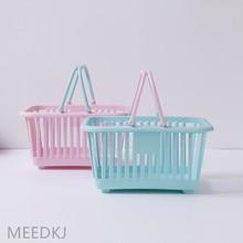 Bath-Basket And Bathroom Receive Toys Multi-Functional Fruit Plastic Portable 1PCS