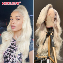 613 Blonde Lace Frontal Wig 13x4 Lace Front Human Hair Wigs 30