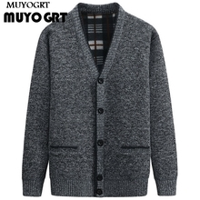 MUYOGRT Men Sweaters Autumn Winter Warm Knitted Sweater Jack