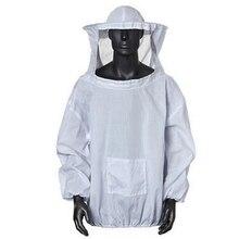2XL защитная одежда костюм куртка унисекс Пчеловодство капюшон товары для дома пальто анти пчела пчеловод костюм защитная одежда