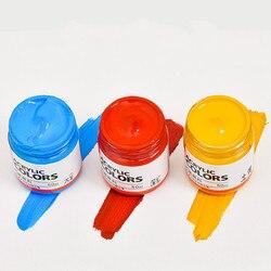 Zestaw farb akrylowych 50mlx1 2/16/20/24 kolor kreatywny uczeń ręcznie malowane malowanie ścian zestaw farb akrylowych/dostaw sztuki