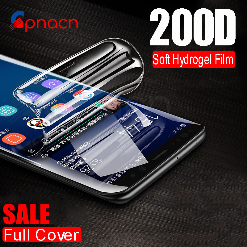200D Protective Soft Film On The For Samsung Galaxy S7 Edge S8 S9 S10 Plus Lite S10e Note 8 9 10 Pro Screen Protector Film Cover