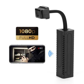 P2P pilot HD mikro kamera Wifi nadzór IP Mini kamera HD 1080P Mini kamera Wifi kamery Wifi kamera bezpieczeństwa tanie i dobre opinie XYisfream Kamera ip 1080 p (full hd) 2 7-12MM Mini kamery Ip sieci bezprzewodowej CN (pochodzenie) CMOS 5V 1A INFRARED Android