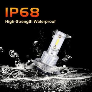 Image 4 - SHAYING X3 Series 2 Pcs Super Bright H16(jp) H8/9/11 H7 9005 HB3 9006 HB4 6500K LED Car Fog  Lights Lamp 6500k 12V Waterproof