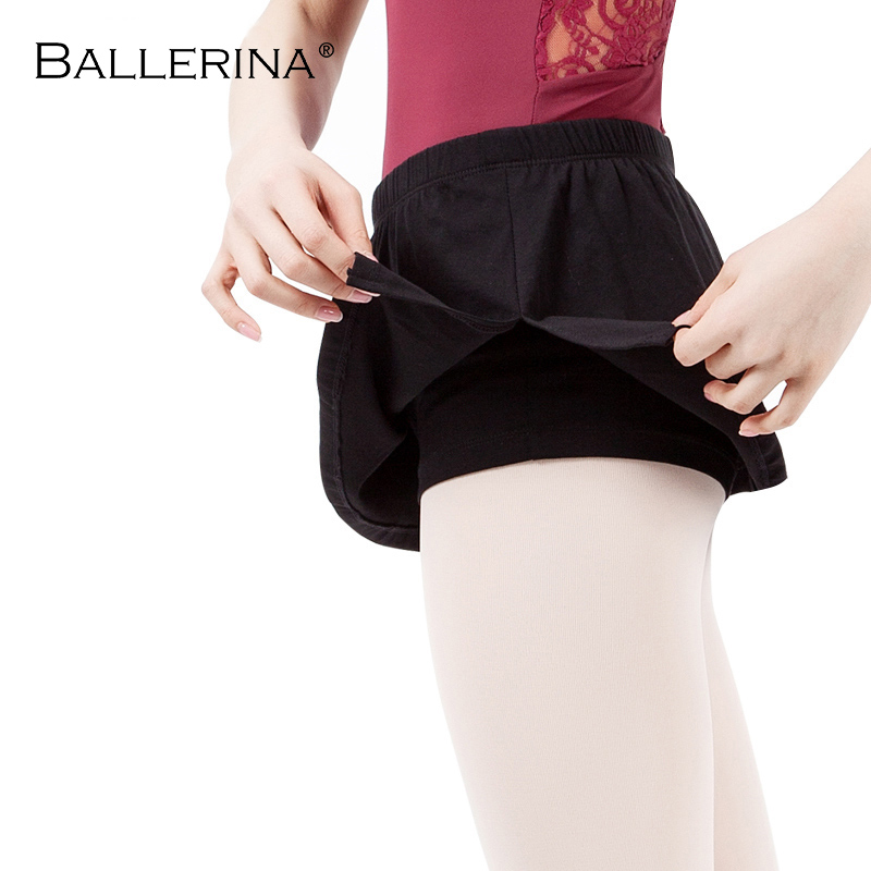 Ballet Skirt Female Training Culottes Yoga Fitness Shorts Practice Pants Skirt Sweatpants Ballerina 7005