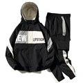 Männer der Trainingsanzug Mann Zwei Stück Set Sweatsuit Polyester Overalls Freizeit Anzug Mit Kapuze Jacken Und Hüfte Hop Harlan Hosen