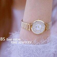 2019 Top marque de luxe femmes montre à Quartz diamant strass robe montres dames montre bracelet Relogios Femininos montre femme