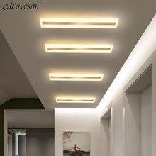 Акриловые потолочные светодиодные светильники для прихожей, потолочные лампы для гостиной, современное освещение для дома, балкона