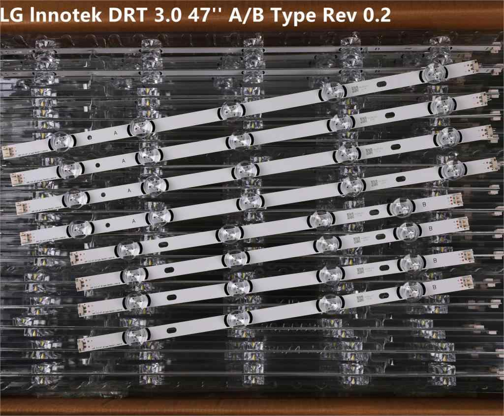 "98Cm Led Backlight Lamp Strip 9 Leds Voor Lg 47 ""Tv Innotek Drt 3.0 47"" 47LB6300 47GB6500 47LB652V 6916L 1948A 1949A LC470DUH"