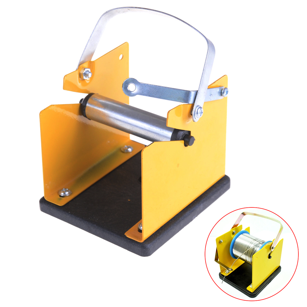 Adjustable Solder Reel Dispenser Tin Management Spool Feeder Electric Welding Tool Accessories Solder Wire Stand Holder Support