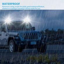 LED 72W Scheinwerfer 24 Led-leuchten Wasserdichte Besser Strahl Fokussierung 6000-6500K Lange Lebensdauer Für LED Auto Scheinwerfer
