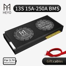 HEYO 3.6V 3.7V PCM lithium Li-ion 13S 18650 15A 20A 40A 60A 80A 100A 200A 250A 48V BMS batterie carte balance e-véhicule e-bike