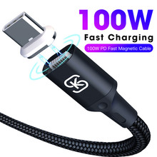 C to male SIKAI Magnetic Charging Cable 100W PD Fast Charge USB-C Type-C for Macbook Pro Laptop ctoc