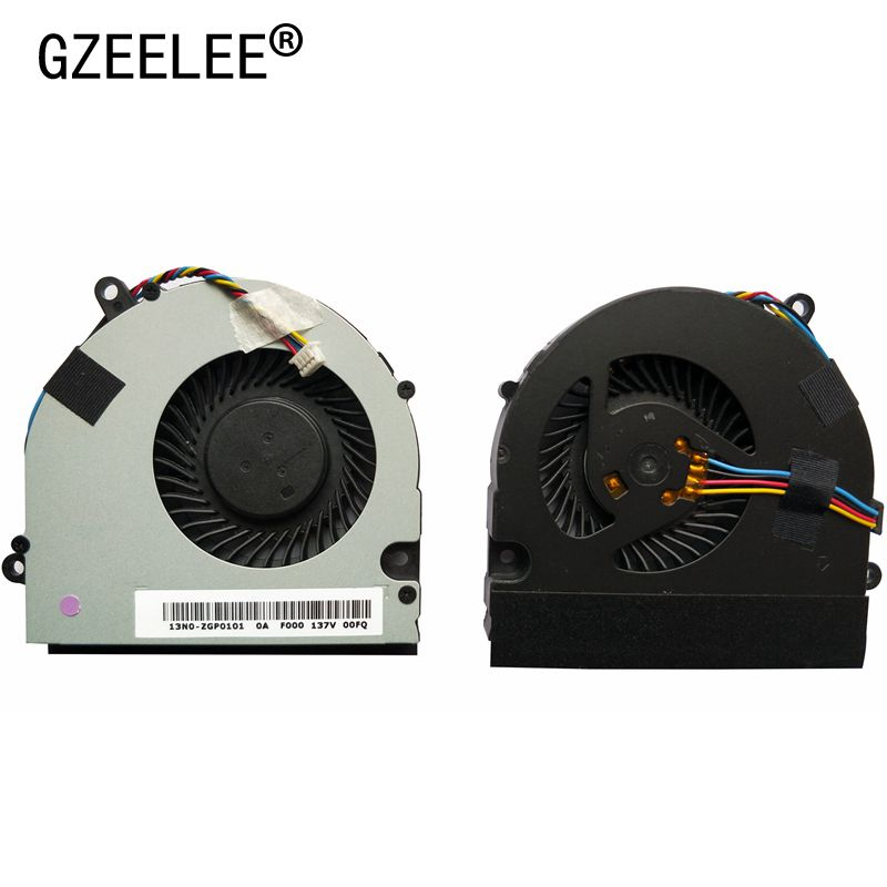 GZEELE LAPTOP CPU Cooling Fan For Asus U41 U41J U41JF U41SV Series Laptop Cpu Fan DFS531005PL0T 4PINS KSB06105HB -AK78 4 Wires