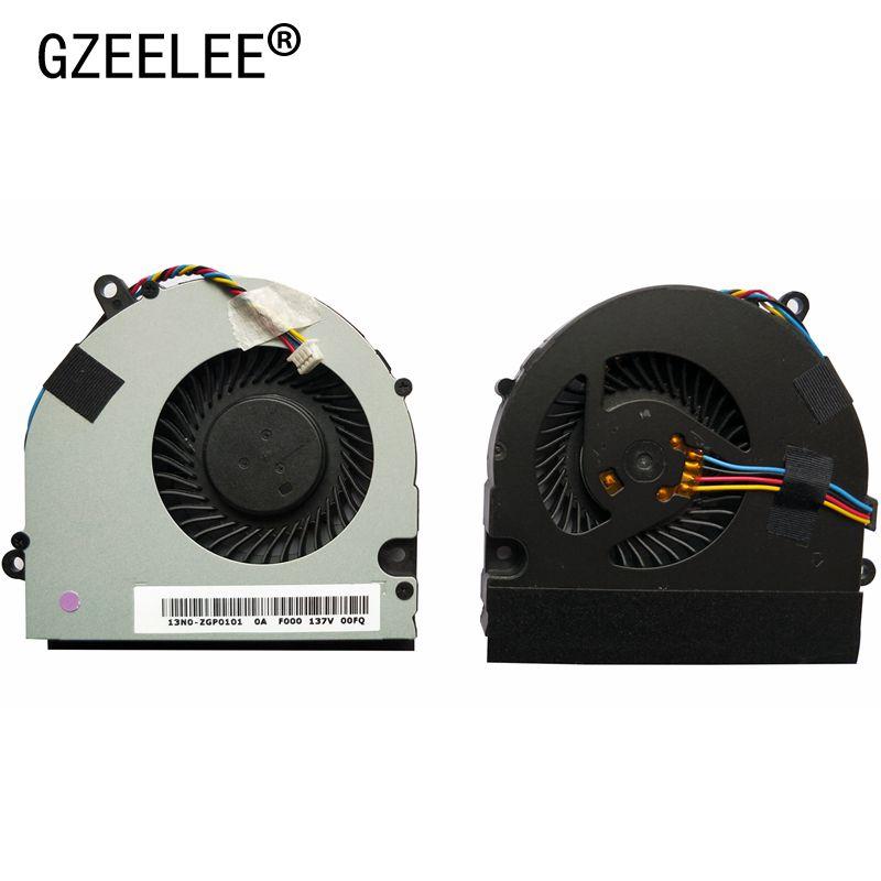 Cooling Fan For Asus U41 U41J U41JF U41SV Series Laptop Cpu Fan T6-A K480P I3 D5 DFS531005PL0T 4PINS KSB06105HB -AK78 4 Wires
