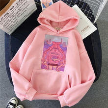 sailor moon women hoodie kawaii funny ulzzang Sweatshirt harajuku korean style Graphic female clothes Hoodies fashion grunge