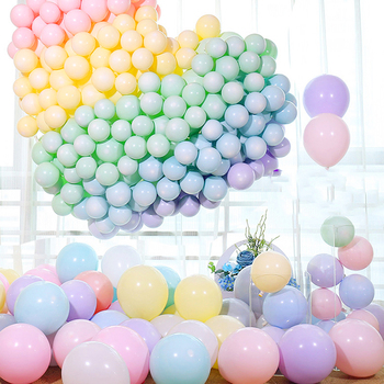 30 sztuk 5 10 12 cal Macaron lateksowe balony pastelowe cukierki balon ślub dekoracja urodzinowa wystrój baby shower powietrza Globos tanie i dobre opinie Owalne ROUND Folia aluminiowa Ślub i Zaręczyny Chrzest chrzciny St Świętego patryka Płeć Reveal Birthday party Dom ruchome