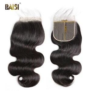 Image 1 - BAISI Lockige Bob Perücke 13x6 Spitze Vorne Perücke Brasilianische Menschliches Haar mit Natürlichen Haaransatz Baby Haar Hohe Dichte perücken für Schwarze Frauen