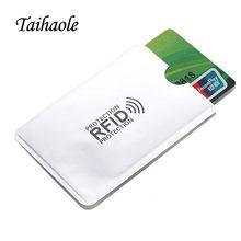5 шт металлический чехол для кредитных карт с rfid защитой