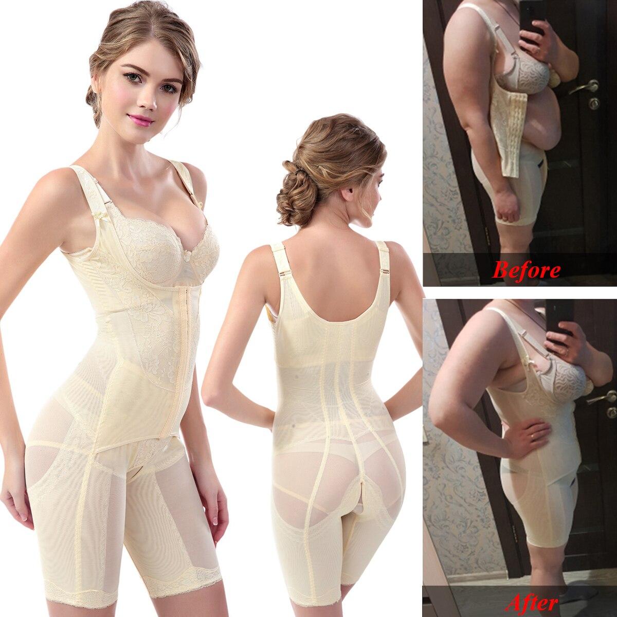 Shaper completo per il corpo Shapewear cinturino per modellare le donne controllo della pancia intimo dimagrante vita senza cuciture Shaper modellante Butt Lifer corsetto 1