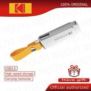 Image 1 - קודאק K133 עט כונן USB 3.1 מתכת USB דיסק און קי 16GB 32GB זיכרון מקל USB 3.0 64GB 128GB U דיסק 256GB pendrive USB מקל