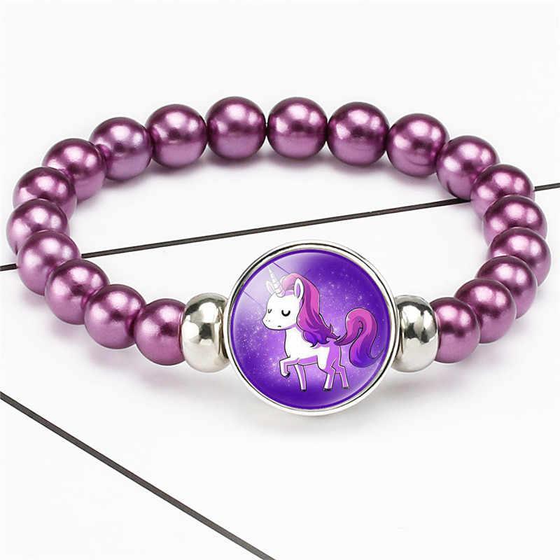 Mới Hoạt Hình Kỳ Lân Trẻ Vòng Tay Nữ Vòng Tay Xinh Xắn Pegasus Kỳ Lân Vòng Tay Ngọt Dây Vòng Tay Trang Sức Quà Tặng