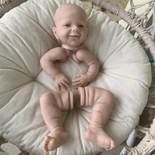 Необработанная кукла NPK DIY, популярная кукла-реборн в комплекте, цветная Реалистичная настоящая Неокрашенная свежая Мягкая кукла