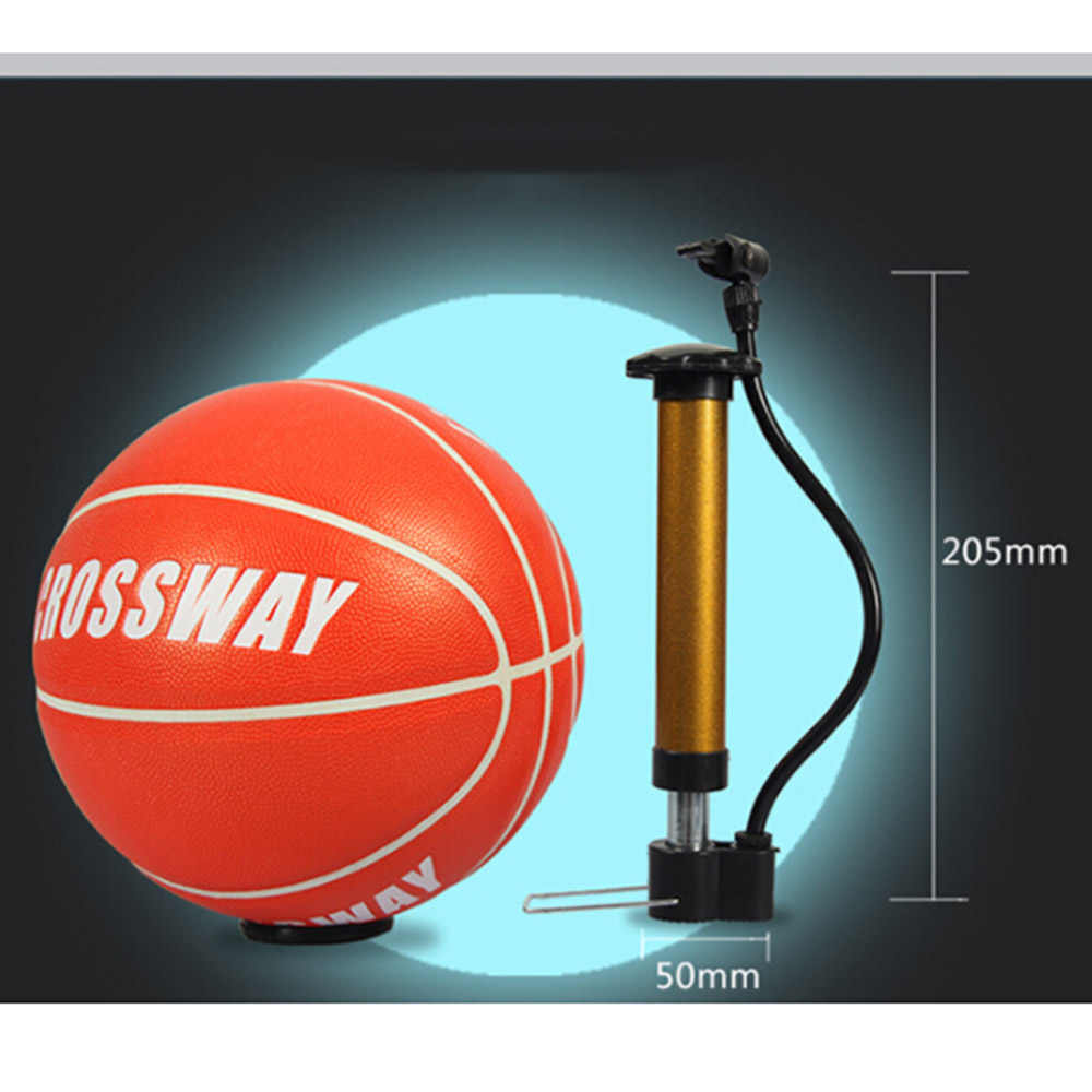 5 unids/set bomba de bicicleta de baloncesto de fútbol de voleibol bomba de tubo Mini portátil de la bicicleta de la bola de la bomba de la aguja de aire bolsa de red