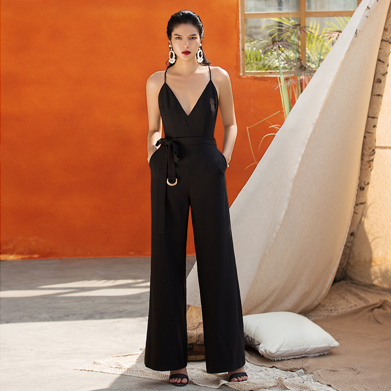 2019 VERRAGEE WOMEN NEW STYLE LONG JUMPSUITS